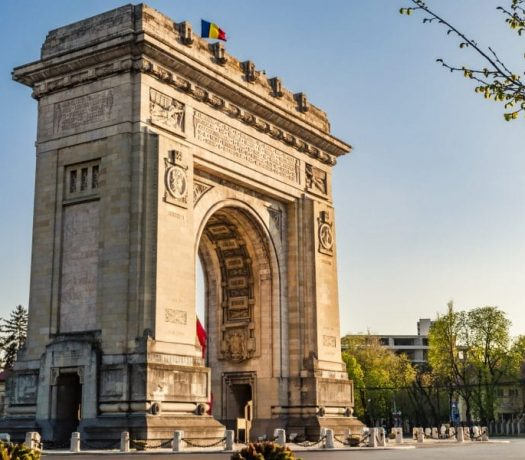 Arc triomphe Bucarest Roumanie