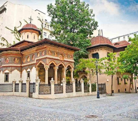 Monastère Stavropoleos Bucarest