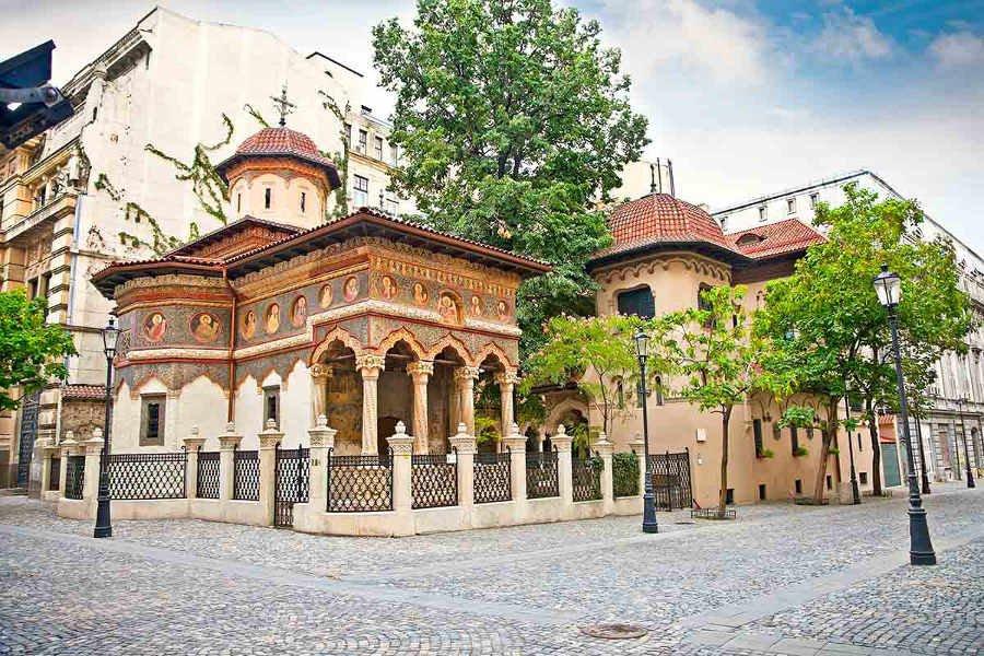 Vieille Ville De Bucarest