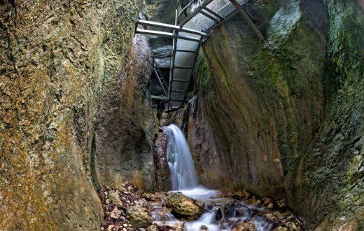 Le canyon des 7 échelles