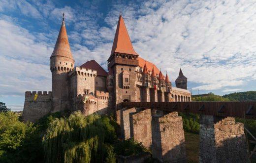 Le château de Corvins à Hunedoara
