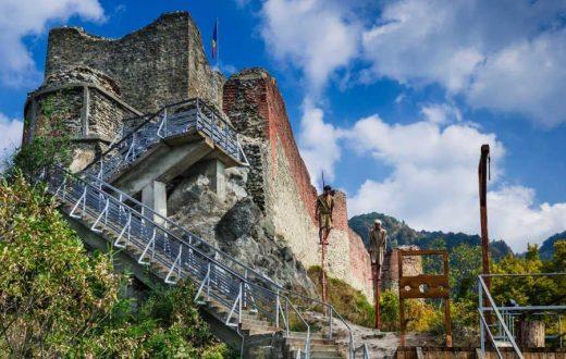 La citadelle de Poenari