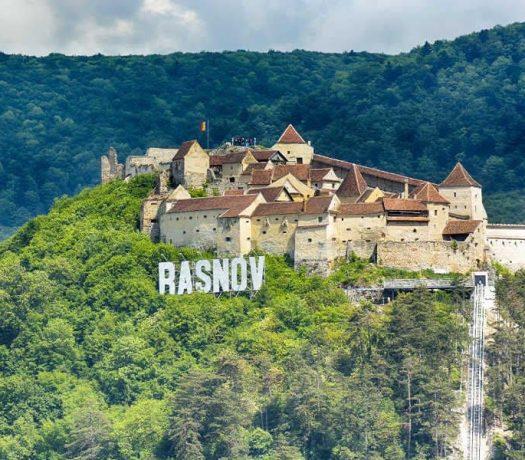 Citadelle Rasnov Transylvanie