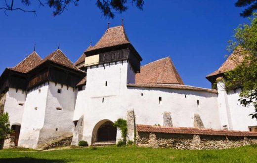 L'église fortifié de Viscri