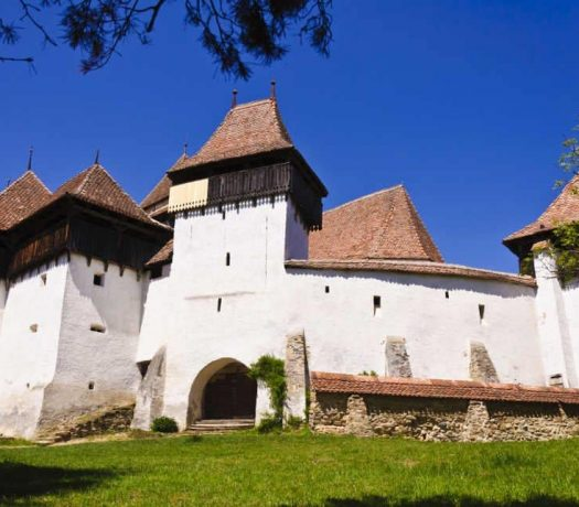 Eglise fortifiée de Viscri Roumanie