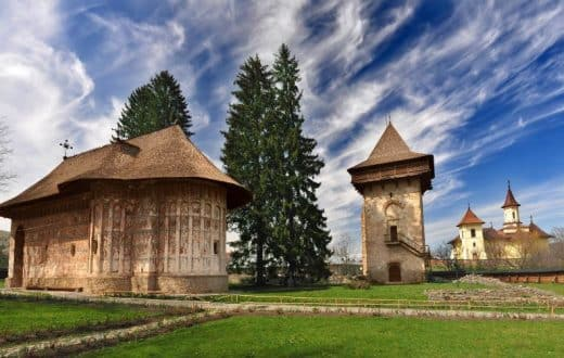 Le monastère de Humor