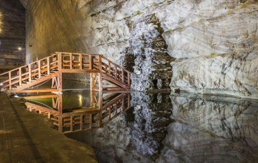 La mine de sel de Slanic Prahova