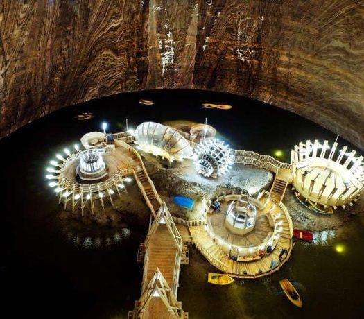 Mine de sel de Turda Roumanie