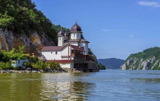 Le monastère de Mraconia