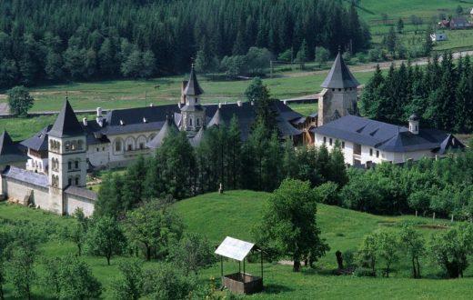 Le monastère de Putna