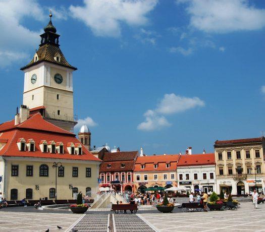 La Place Centrale de Brasov