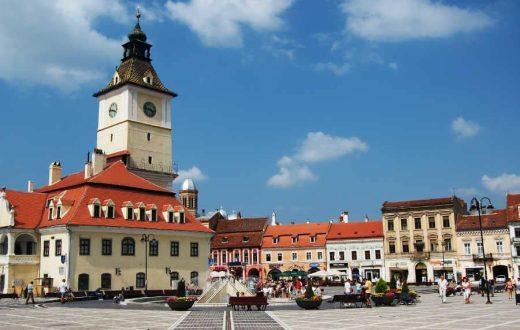La ville saxonne de Brasov