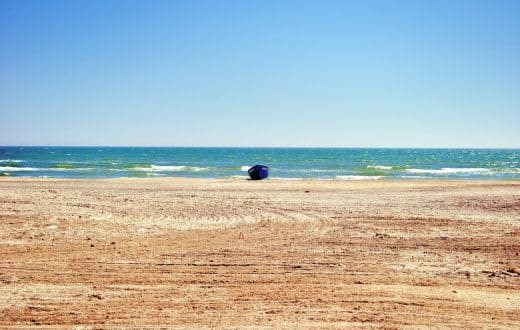 La plage sauvage de Vadu