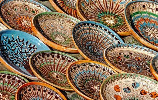Les poteries du village d'Horezu