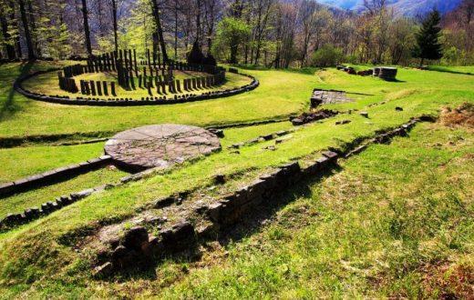 Le site archéologique d'Orastie