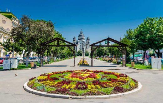 Le centre ville de Targu-Mures