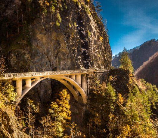 Transfagarasan route Roumanie