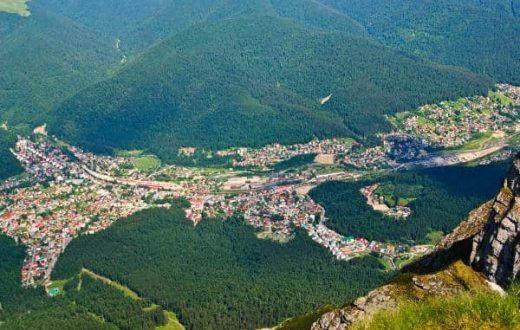 La vallée de la Prahova
