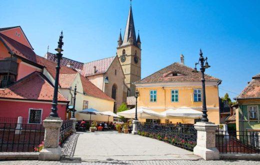 La ville saxonne de Sibiu