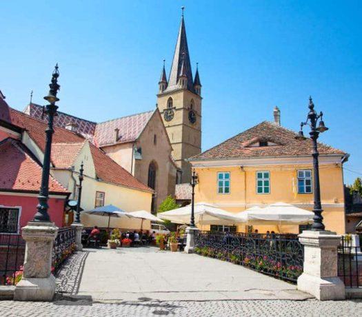 Ville de Sibiu Roumanie