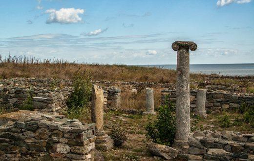 Visite de l'antique cité Histria