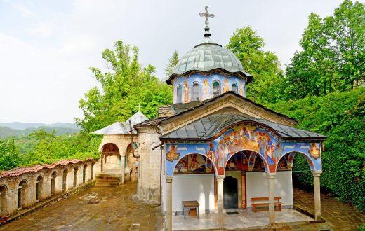 Le monastère de Sokolski