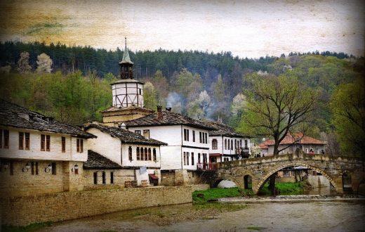 La petite ville de Tryavna