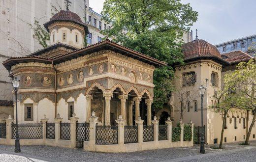 L'église Stavropoleos